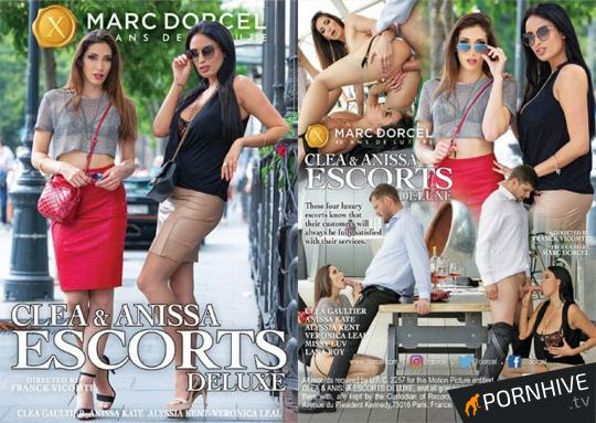 Clea & Anissa Escorts Deluxe Movie Poster - Click to watch.