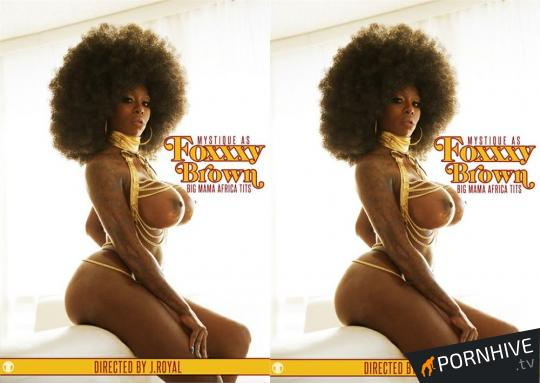 Foxxxy Brown: Big Mama Africa Tits Movie Poster - Click to watch.