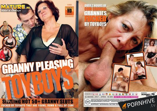 Granny Pleasing Toyboys Movie Poster - Click to watch.