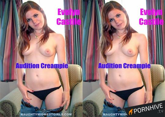 Evelyn Castile Audition Creampie Movie Poster - Click to watch.