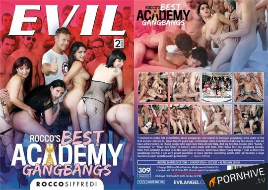 Rocco's Best Academy Gangbangs Movie Poster - Click to watch.