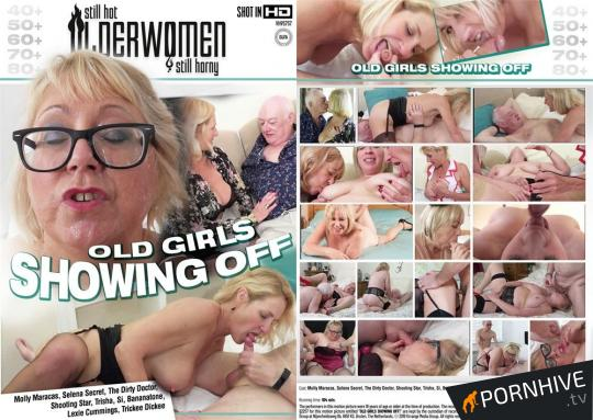 Old Girls Showing Off Movie Poster - Click to watch.
