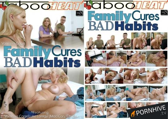 Vanessa Cage in Family Cures Bad Habits Movie Poster - Click to watch.