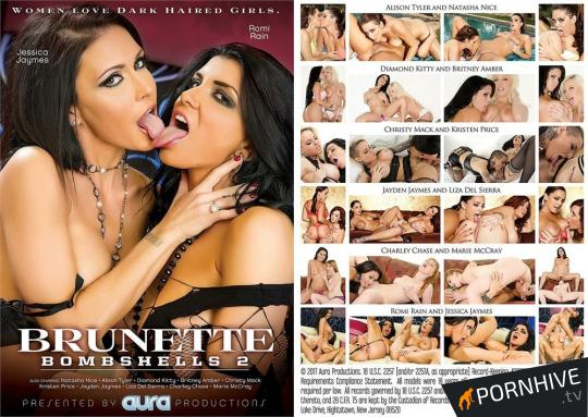 Brunette Bombshells 2 Movie Poster - Click to watch.