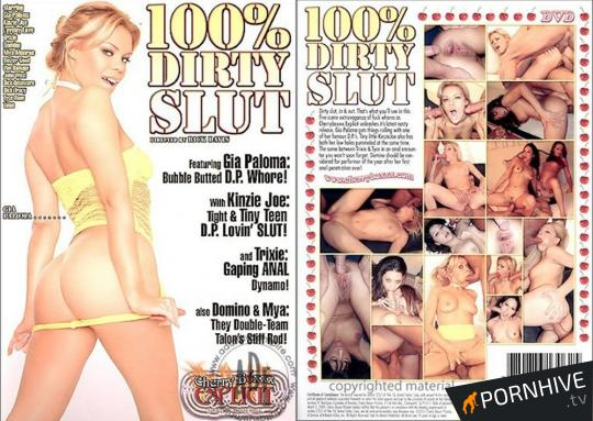 100% Dirty Slut Movie Poster - Click to watch.
